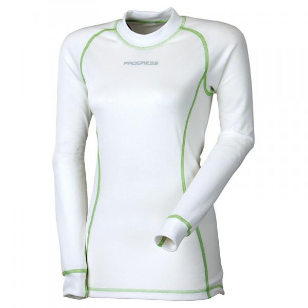 Dámské termo triko s dlouhým rukávem Progress DRY FAST bílé - kup si 497aeb9e3d